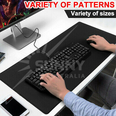 Multiple Sizes Gaming Mouse Pad Desk Mat Anti-slip Rubber Speed Laptop Computer