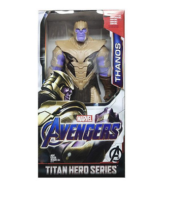 "Thanos Marvel Avengers 4 Endgame Action 12 ""Figure Toys Serie Titan Hero"