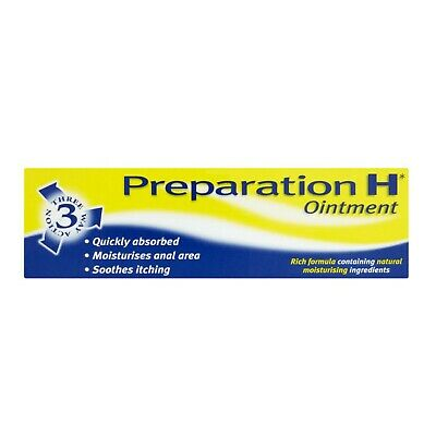 Preparation H Ointment Dry Itchy Anal Skin 25g - Multibuy