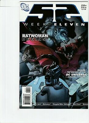 52 Weeks # 11 !!8! 2006 1St Appearance Of New Batwoman Kate Kane !! Tv Show Soon