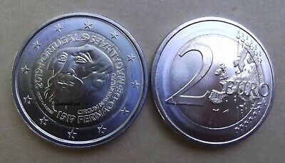 "2 Euro commémorative Portugal  2019  "" Fernão Magalhães ""UNC"
