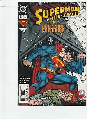 Action Comics # 712 !! 1995 Dcu Logo Variant !! Very Low Print Run .99 Auctions