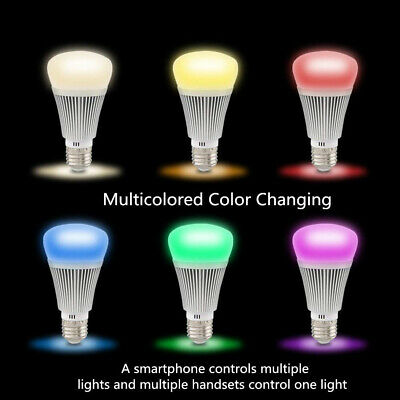 Sonoff Ampoule E27 6W Wifi RGB Cct Dimmable Minuterie Amazon Alexa Google Home