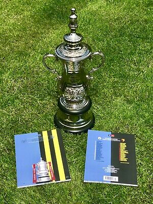 Manchester City V Watford 2019 Emirates  FA Cup Final  Programme Possible Treble