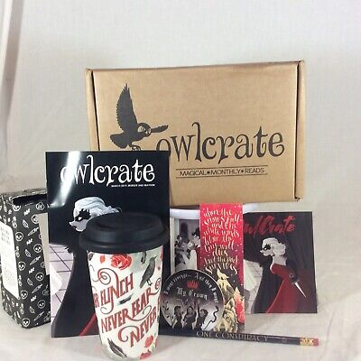 Owlcrate March Box Pieces Game Of Thrones Four Dead Queens