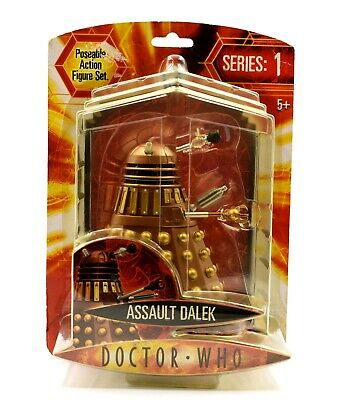 Doctor Dr. Who Series 1 - Assault Dalek Poseable Action Figure