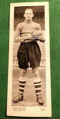 TOPICAL TIMES FOOTBALL STAR PANEL 1930s - FRANK BOULTON DERBY COUNTY   (MM92)