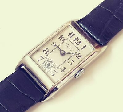 Antique Marconi Special By Rolex Art Deco Swiss Watch From 1930