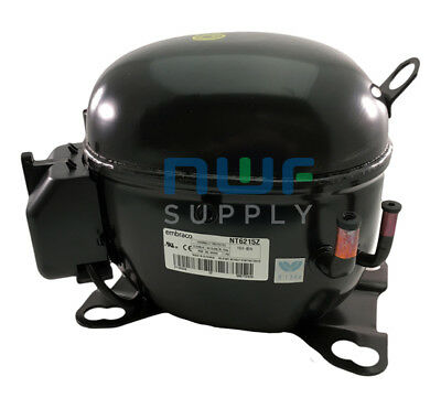 Tecumseh AKA4460YXA Replacement Refrigeration Compressor R-134A 1/2 HP