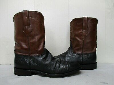 122ea974d92 LUCCHESE SMOOTH OSTRICH Leather Cowboy Boots Mens Size 13 D Style L8013