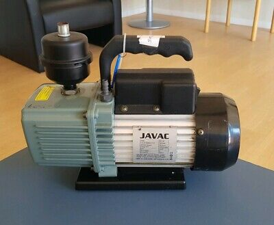 Javac CC-141 Two 2 Stage Air Conditioning Refrigeration Vacuum Pump 140 L/Min