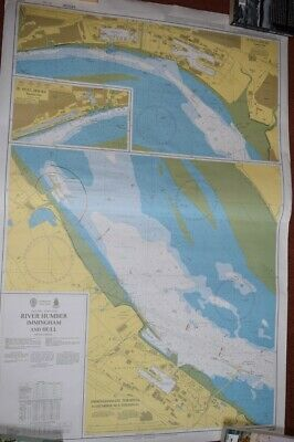 Admiralty Maritime Nautical Charts Used