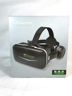 Pansonite VR Virtual Reality Glasses, For Games And 3D Movies, Black