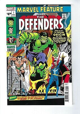 DEFENDERS: MARVEL FEATURE # 1 ( FACSIMILE EDITION, July 2019), NM NEW