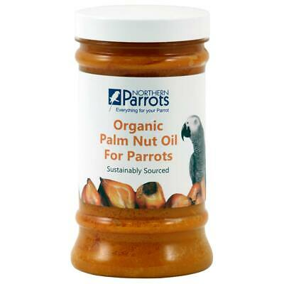 Organic Parrot Palm Nut Fruit Extract Oil - 500ml African Greys Conures Macaws