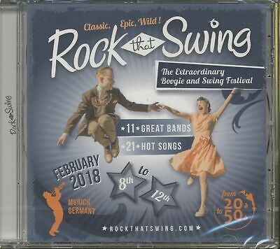 Various - Rock That Swing - Festival Compilation 2018 (CD) - Retro Swing/Croo...