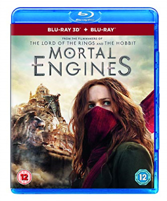 Mortal Engines Bluray & 3D Bluray & Digi (UK IMPORT) BLU-RAY NEW
