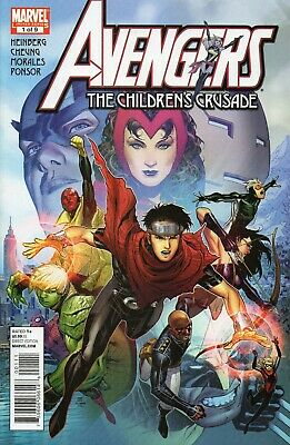Avengers Children's Crusade # 1 2 3 4 5 6 7 8 9 !! Re-Intro Scarlet Witch! Young