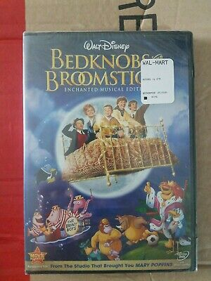 Bedknobs and Broomsticks (DVD, 2009, Enchanted Musical Edition) NEW IN PLASTIC