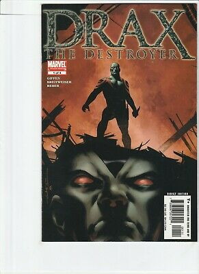 Drax The Destroyer # 1 !!4! 2005 Guardians Of The Galaxy Movies!! .99 Auctions