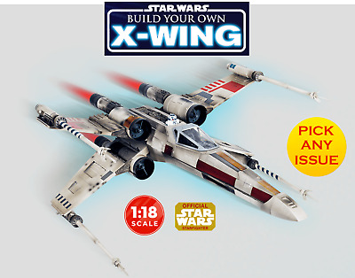 Build Your Own X Wing | 1:18 Scale | DeAgostini | Build The X Wing | + R2D2