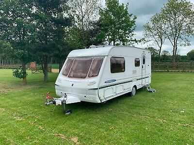 Abbey Freestyle 520Se L Shape Seating 2004 4 Berth End Bathroom Full Awning Vgc