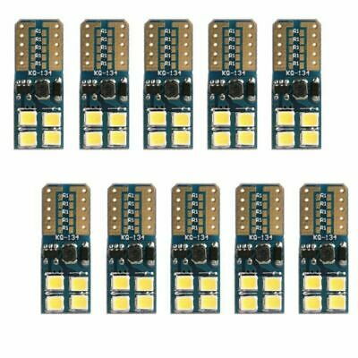 10PCS T10 2835 W5W 194 168 8SMD Car LED Canbus Error Free Wedge Light Lamp Bulbs