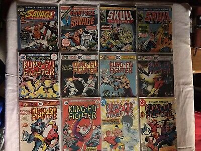 Mixed Lot of 12 Marvel and DC Comics