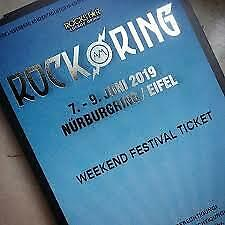 Rock am Ring 2019 Weekend Festival Ticket + 3 Day Parking Ticket