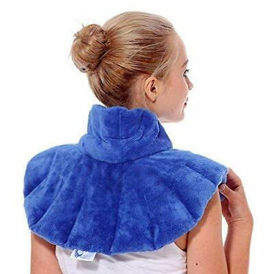 Huggaroo Microwavable Neck and Shoulder Wrap | Plush Aromatherapy Heating Pad