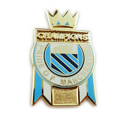 Manchester City Champions of England 2019 Pin Badge