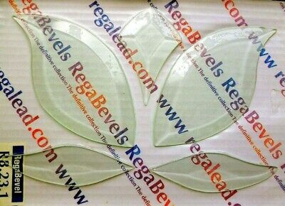* Decorative Glass Bevel Cluster Rb.23.1. - For Doors, Windows, Mirrors, Etc. E-