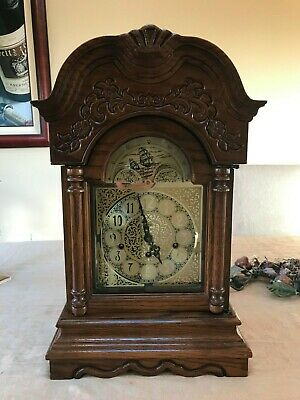 Ridgeway Mantle Clock w/ Franz Hermle Clock Movement, Unique & Rare