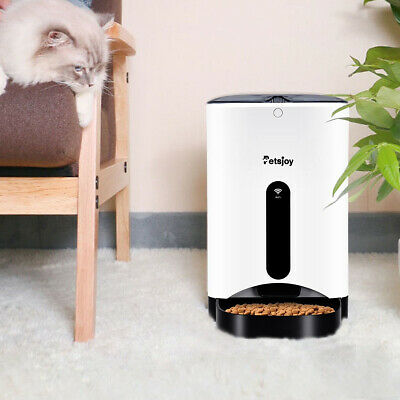 Automatic Pet Feeder Smart Cat Dog Food Dispenser Remote Control App Timer New