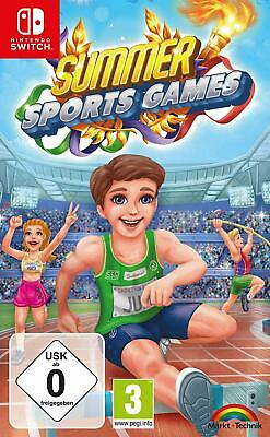 Summer Sports Games Switch Retail Rare NEW