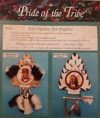 Pride Of The Tribe Nativo Sudoeste Arte Kit Proyecto Mac Enterprises Vtg