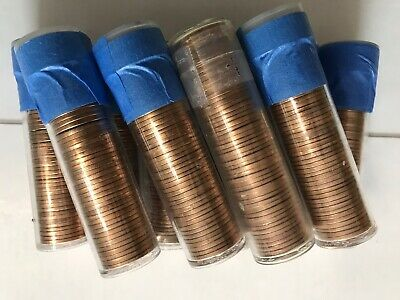 10 Rolls Of 1973-S Unsearched Uncirculated Lincoln Memorial Cents