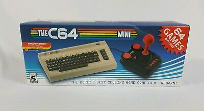 The C64 Mini Retro Gaming Console with C64 Joystick Controller FREE SHIPPING