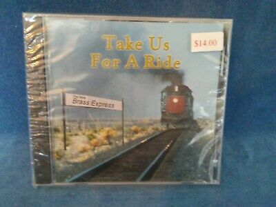 Take Us For A Ride by The New Brass Express CD Peppermint Productions Youngstown