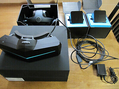 Pimax 5k+ bundle with Deluxe Audio Strap and two Base Stations