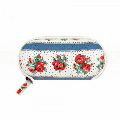 Cath Kidston Ribbon Rose Zip Around Glasses Case - Warm Cream - BNWT