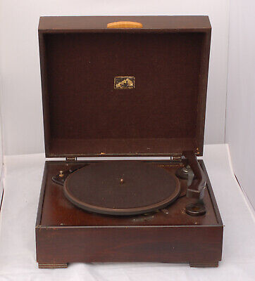 Vintage HMV 2102 1930s ELECTRIC GRAMOPHONE 78rpm Record Player