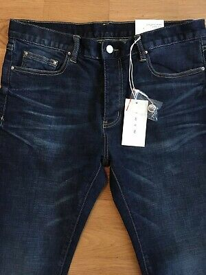 Rocawear Jeans r00j9914e Loose Fit Model 855 Mid Blue New York Los Angeles