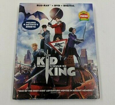 The Kid Who Would Be King Blu ray + DVD + Digital Copy NEW SEALED