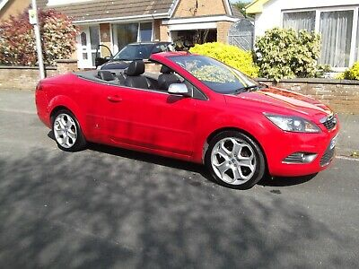 2008 Ford Focus Cc-3 2.0 Tdci Convertible In Red