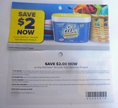 Save On Oxiclean Versatile Stain Remover Products