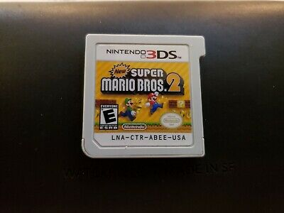 New Super Mario Bros. 2 (Nintendo 3DS, 2012) GAME ONLY!