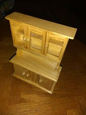 Doll House Hutch Unfinished