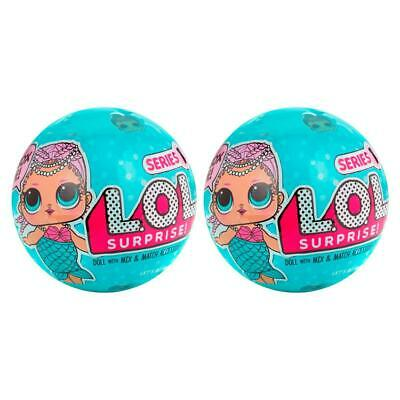 LOL Surprise Doll Series 1 Sidekick 2-Pack Mermaid L.O.L Figures MGA 79FCzf1