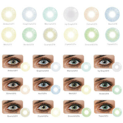 US Vibrant Color Contacts Eye Lenses Color blends Cosmetic Makeup Eye Lens